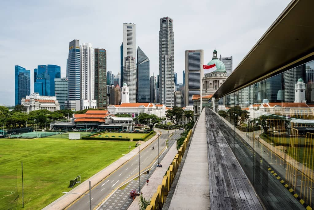 Commercial office spaces in Singapore
