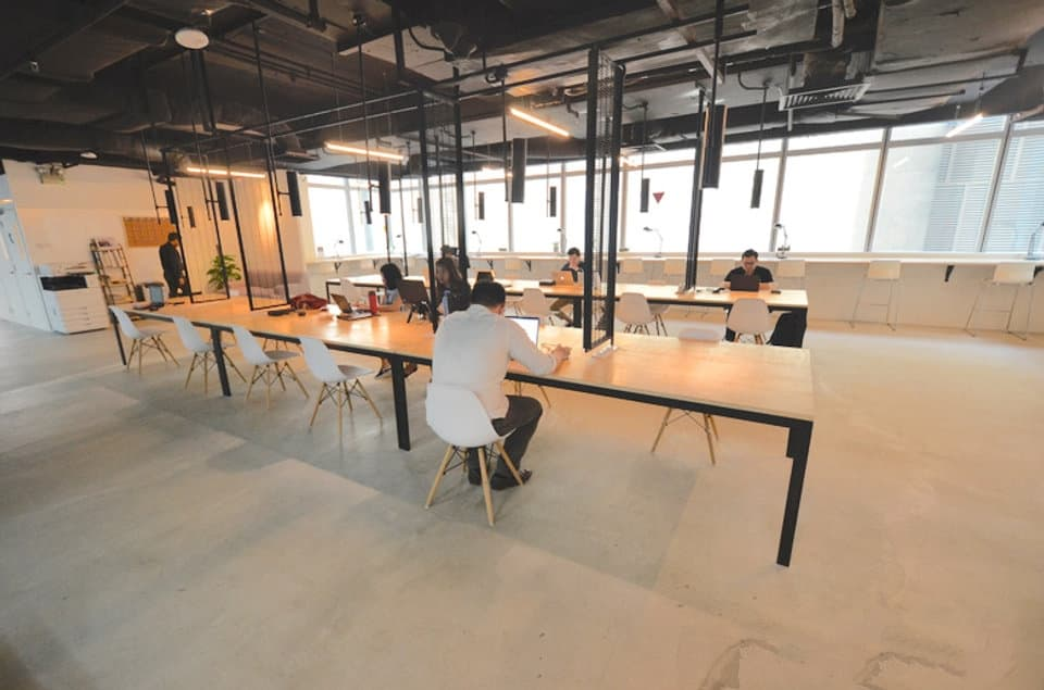 office spaces for startups in Singapore