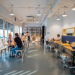 The Hive hot desk, coworking spaces in Singapore