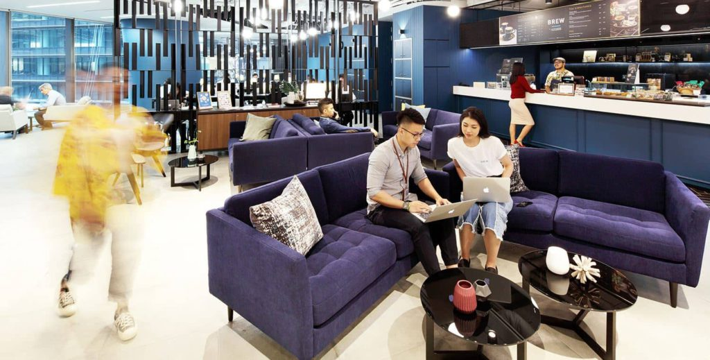 Marina One East Tower Modern Coworking Spaces in Singapore